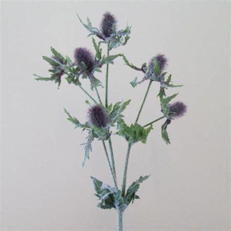 artificial eryngium thistles sea holly lavender artificial thistles