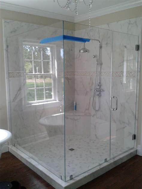 Glass Shower Doors Cost 1000 Images About Bathroom Inspiration On Pinterest Shower Doors Fiberglass Shower Pan And