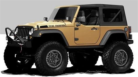 Names For Jeeps Jeep Wrangler Sand Trooper Concept Photo On Automoblog Net