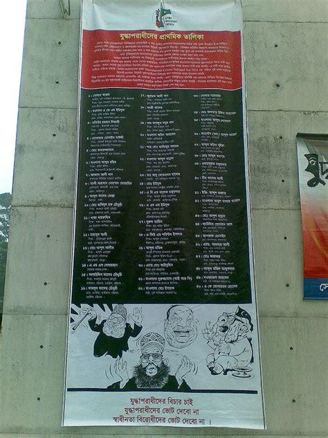 Criminal List File 16122009 War Criminal List Photo1 Ranadipam Basu Jpg