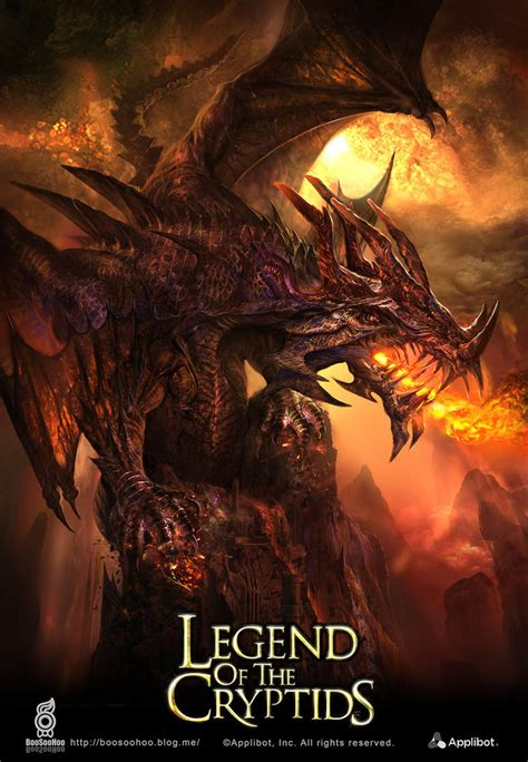 the legend of legend of the cryptids illustration by boosoohoo on deviantart