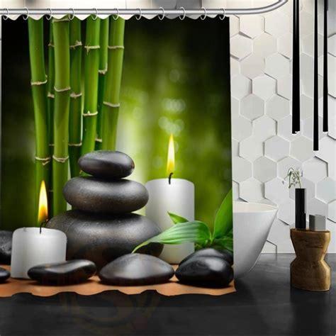 Rideau Zen by Rideau De Zen Tr 232 S Tendance Avec Galet Et Bambou