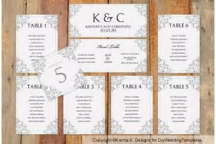 Wedding Seating Chart Template Word by Wedding Seating Chart Template By Karmakweddings