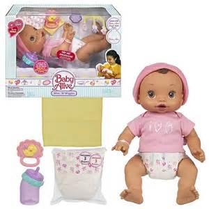 Baby alive girl baby alive wets amp wiggles hispanic girl hasbro