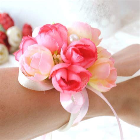1 pcs wedding supplies hand flower bridesmaid silk