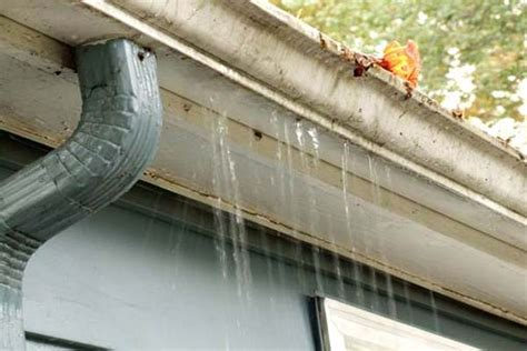 roofing how to hang gutters leaking problem how to hang