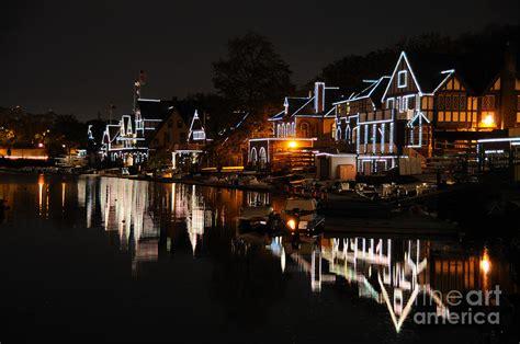 philadelphia boat house row philadelphia boathouse row at night by gary whitton