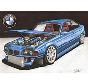 Dibuje Un BMW Y Honda Civic  Paso A 147santi