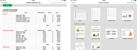 best spreadsheet apps for ipad numbers google drive