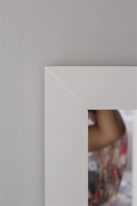 how do you frame a bathroom mirror how to frame a bathroom mirror easy diy project
