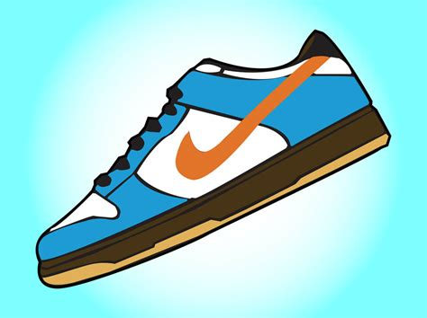 running shoe clip nike sneaker clipart