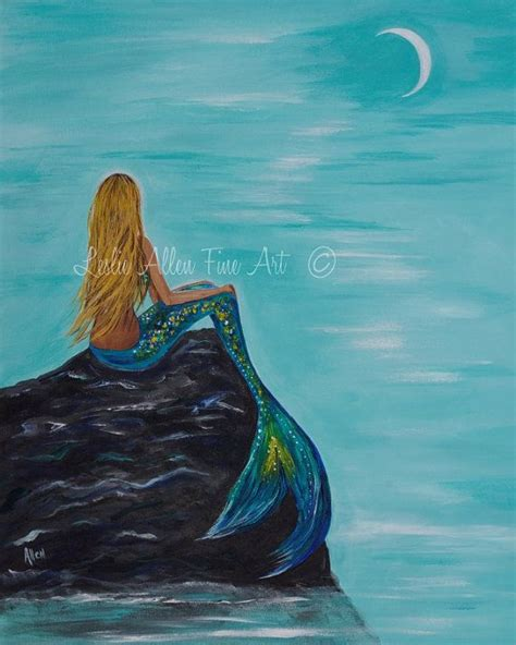 mermaid painting 25 best ideas about mermaid paintings on