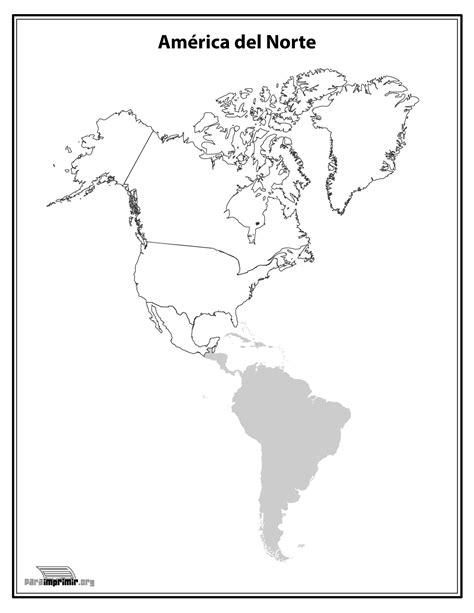 america mapa nombres mapa de america norte para imprimir