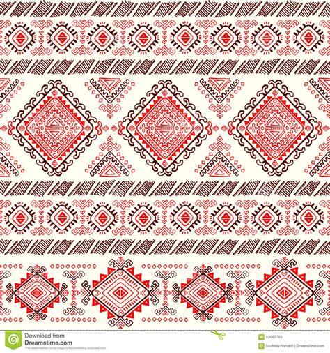 aztec pattern stock tribal aztec vintage seamless pattern stock vector image