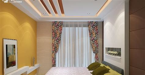false ceiling designs  bedroom saint gobain gyproc