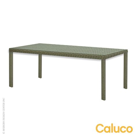 10 tierra rectangle dining table caluco patio furniture