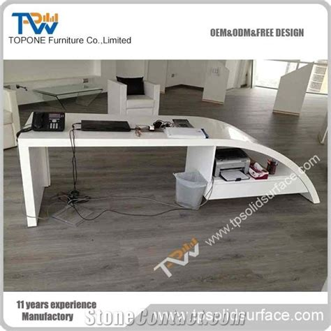 corian acrylic solid surface corian acrylic solid surface office desk for executive