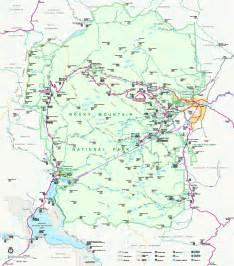 rocky mountain national park colorado map rocky mountain national park official map rocky mountain