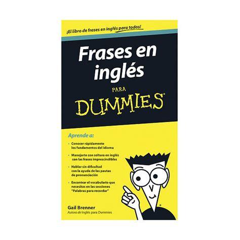 libro frases en ingles para dummies descargar gratis pdf