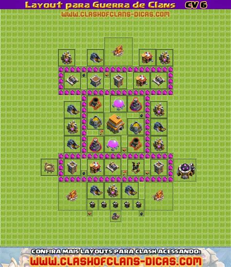 layout vila cv 6 layouts para guerra de clans cv 6 clash of clans dicas