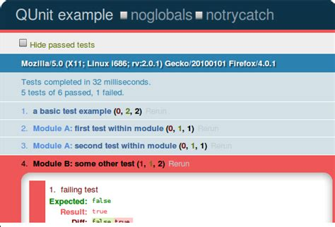 jquery qunit tutorial javascript how to run unit tests in all browsers