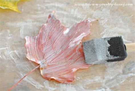 acrylic paint drying time on wood pretty fall leaf place cards rizzo