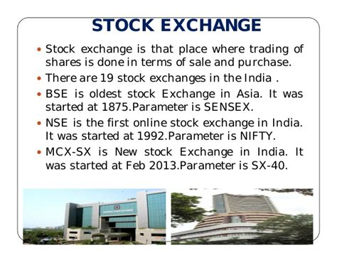 Mba In Financial Markets Nse by Financial Markets
