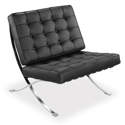 fauteuils barcelona fauteuil barcelona chair pu meubles design modern classics