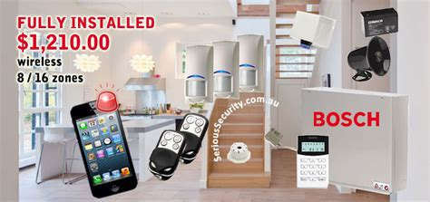 wireless home alarm systems serious cctv sydney