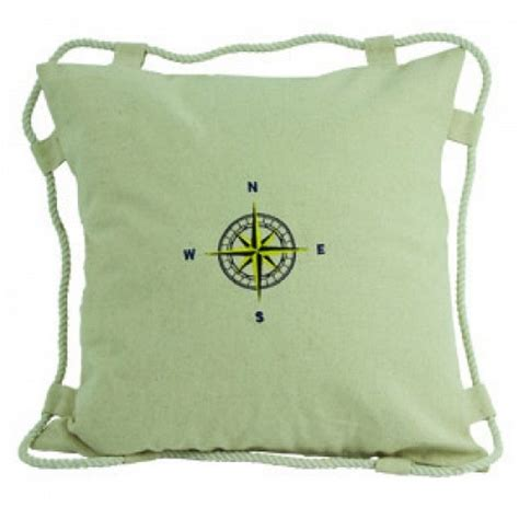 Nautical Pillows Wholesale by Wholesale White Compass Pillow 15 Quot Model Ship Assembled