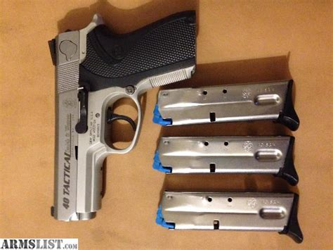 smith wesson 40 tactical armslist for sale smith and wesson model 4053tsw