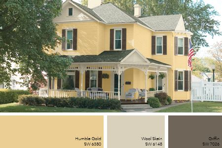 pale gold exterior paint idea home exteriors exterior paint ideas paint ideas