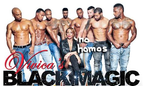 we became male strippers magic vivica s black magic news and photos perez hilton