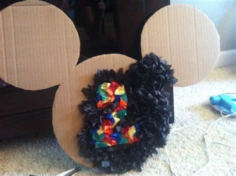 mickey mouse decorations diy diy mickey mouse decorations zayne s 1st bday