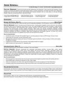 Event Manager Resume by Event Manager Cv Security Guards Companies