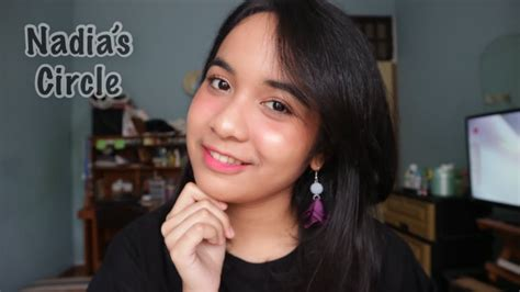 Lipscrub Liplapin daily makeup routine for combination skin indonesia eps 6