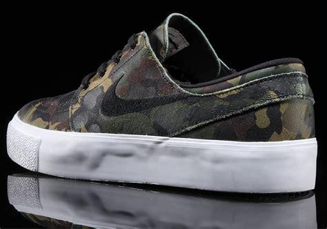 Nike Stefan Janosky Camo nike sb janoski camo 854321 101 sneakernews