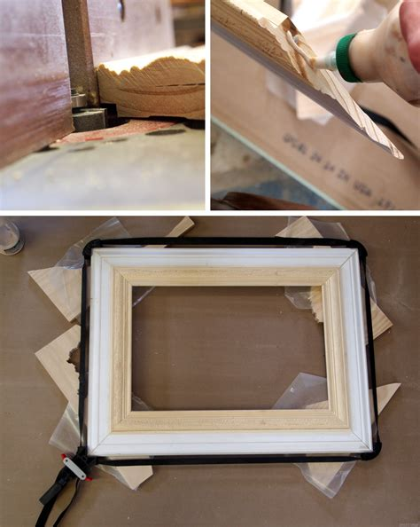 How To Make A Picture Frame Out Of Paper - build a custom frame out of trim pieces reality daydream