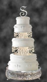 Chandelier Cake Swarovski And Rhinestone Chandelier Wedding Cake