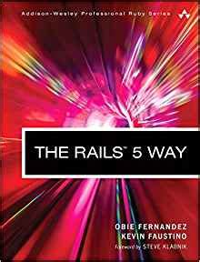 the rails 5 way 4th edition wesley professional