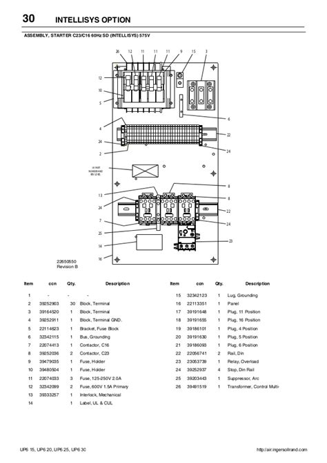 ingersoll rand air compressor parts diagram wiring schematic for ingersoll rand p185 wiring diagrams