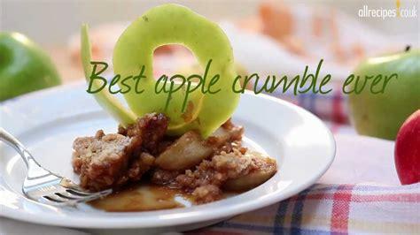 best apple crumble recipes best apple crumble recipe allrecipes co uk