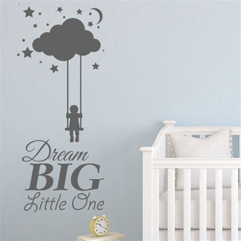 big stickers for wall big one baby wall sticker nursery wall