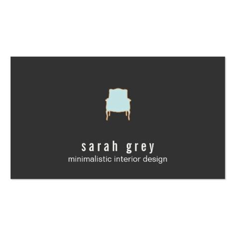 interior design business cards minimalistic interior design business card zazzle