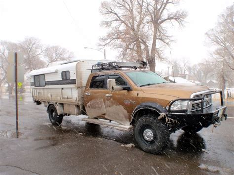 Alaskan camper on full size.   Expedition Vehicle