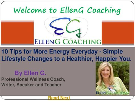More Helpful Hints For Everyday by 10 Tips For More Energy Everyday Simple Lifestyle