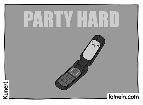 Flip Phone Meme - party hard animated gif
