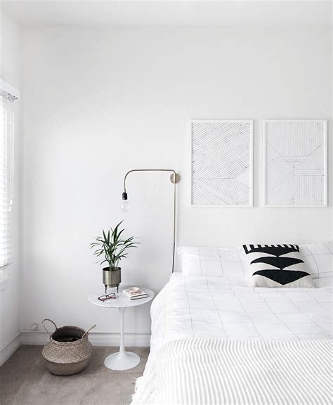 minimal bedroom how to achieve a minimal scandinavian bedroom homey oh my