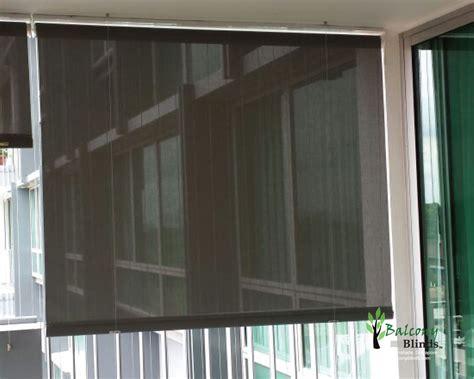 Outdoor Roller Blinds Outdoor Roller Blinds Gallery Balconyblinds Singapore