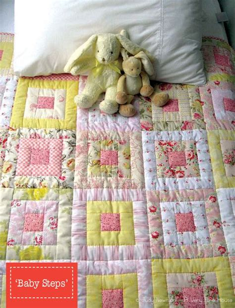 Baby Steps Kotak Pink baby steps my quilt patterns pink quilts patterns and house